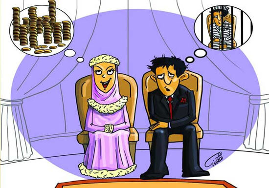 حق طلاق به شرط مهریه