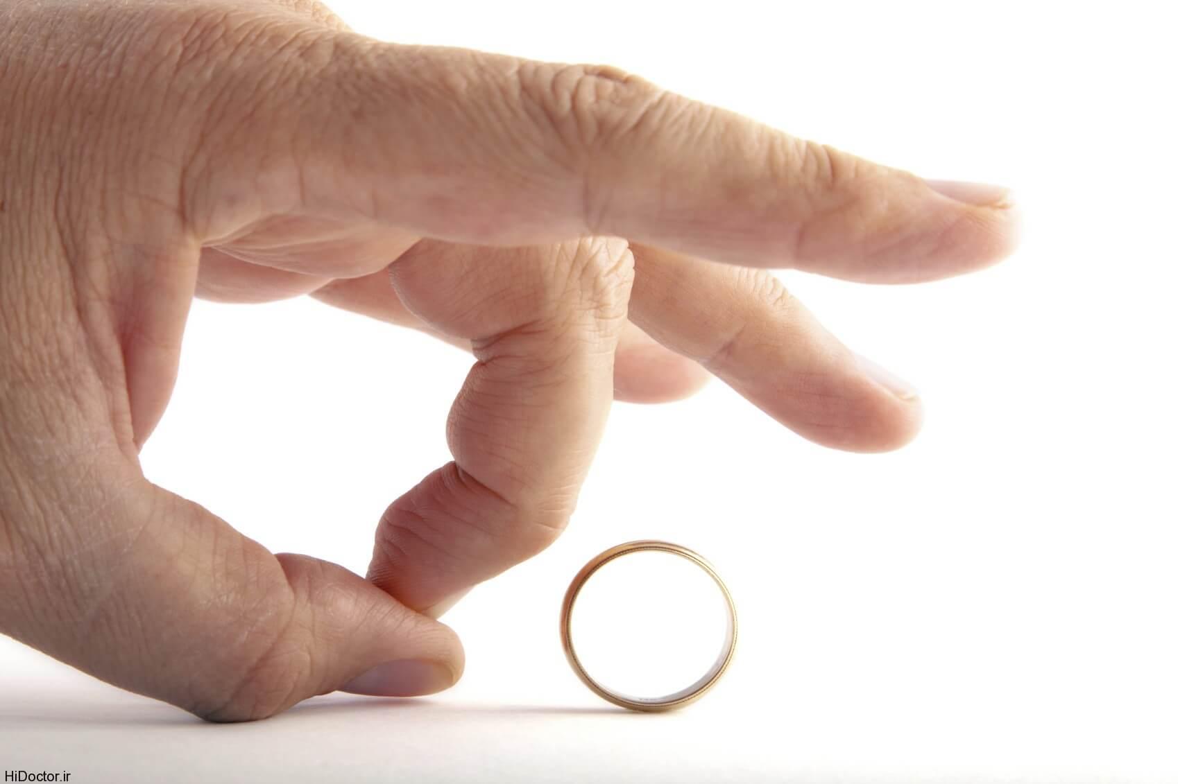 کاهش آمار طلاق